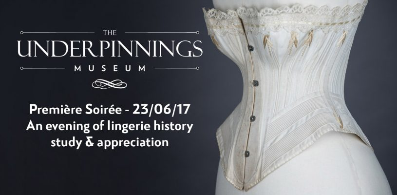 The Underpinnings Museum Premiere Soiree Banner, photography by Tigz Rice Studios