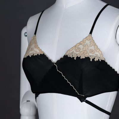 1930s Kestos style bra, The Underpinnings Museum. Photography by Tigz Rice Studios