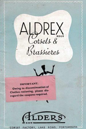 Aldrex Corsets & Brassieres Catalogue, circa 1950