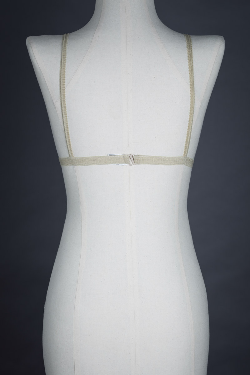 Lurex Bralet By Mary Quant, c. 1970s The Underpinnings Museum shot by Tigz Rice Studios 2017