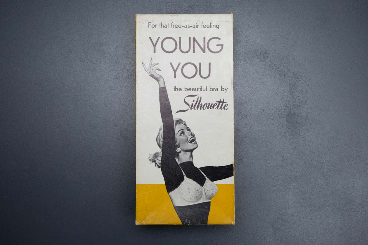 'Young You' teen bra by Silhouette, c. 1960s The Underpinnings Museum shot by Tigz Rice Studios 2017