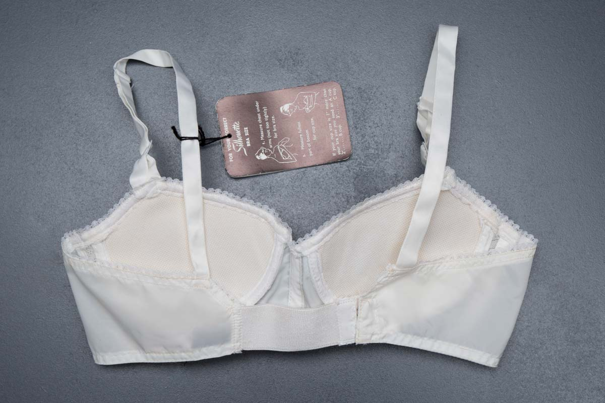 'Young You' teen bra by Silhouette, c. 1950s The Underpinnings Museum shot by Tigz Rice Studios 2017