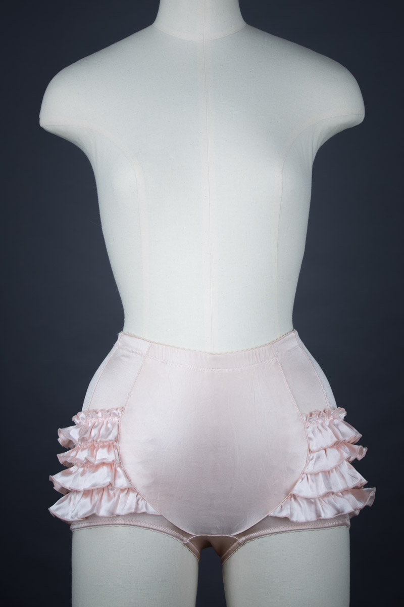 'Platinum' Ruffle Brief by Rigby & Peller, c. 2009, UK. The Underpinnings Museum shot by Tigz Rice Studios 2017