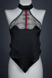 'Empress Noir' Silk Dudou by Pillowbook The Underpinnings Museum shot by Tigz Rice Studios 2017