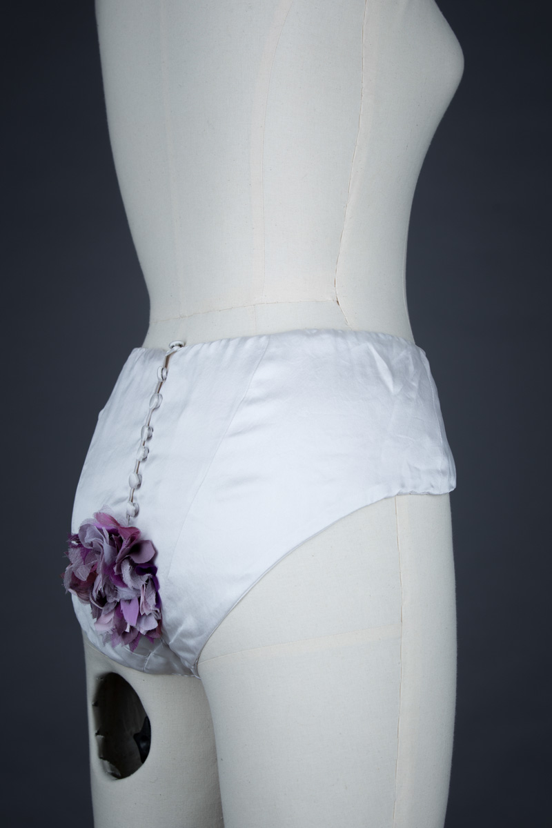 Garden of Delights Knickers by Strumpet & Pink, 2008, UK Photography by Tigz Rice Studios. From The Underpinnings Museum collection.