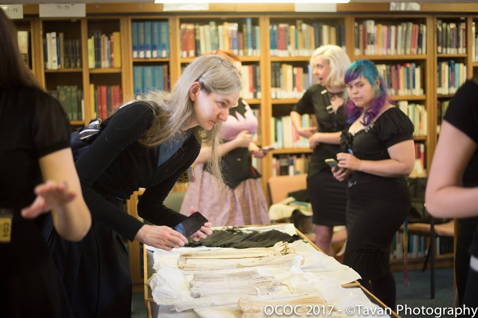 Image from the Underpinnings Museum workshop at OCOC 2017. Photography by Laurie Tavan.