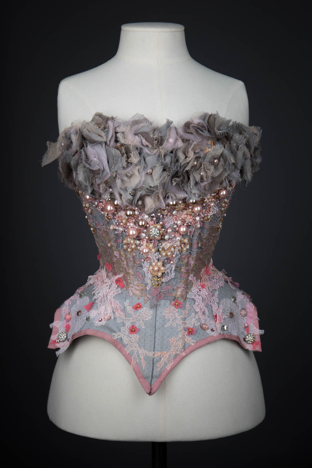 'Babes In Joyland' Collaborative Wedding Corset By Pop Antique. The Underpinnings Museum. Photography by Tigz Rice