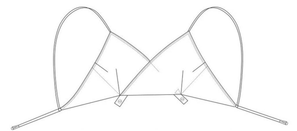 Reproduction 'High Line' CC41 Cotton Bra By Kestos, by Alberto Atalla. The Underpinnings Museum.