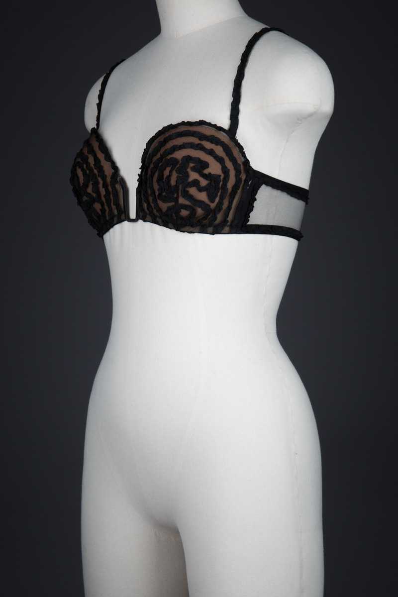 'Rubans' Silk Ribbonwork Bra by Jean Paul Gaultier for La Perla, Spring/Summer 2013, Italy. The Underpinnings Museum. Photography by Tigz Rice.