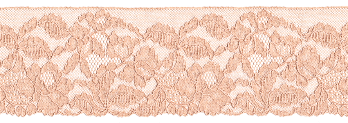 Machine made lace from the collection of Karolina Laskowska. The Underpinnings Museum