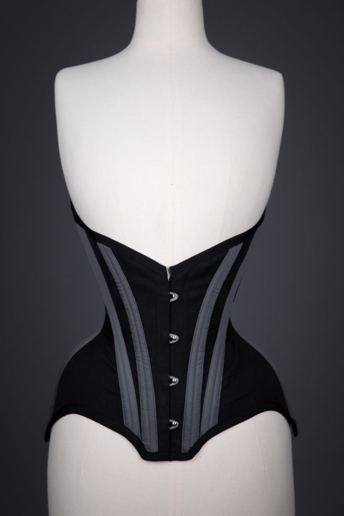 Gibson Girl Underbust Corset By Pop Antique, 2015, USA. The Underpinnings Museum. Photography by Tigz Rice.