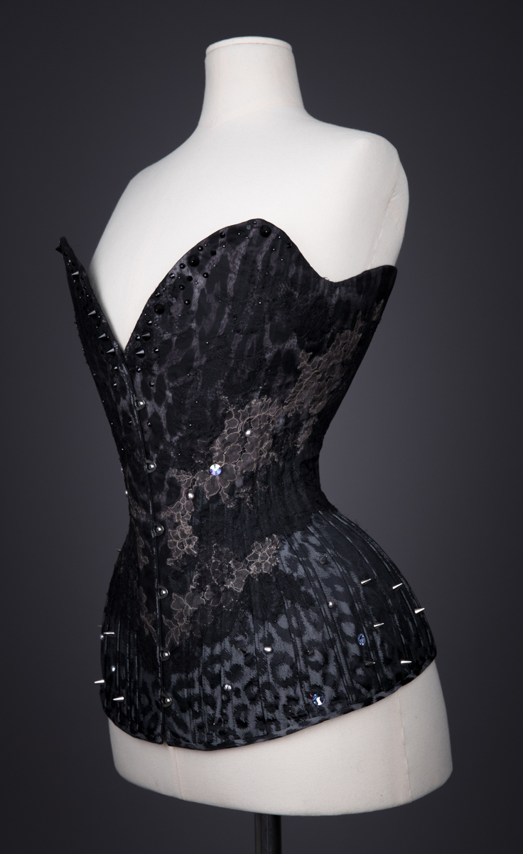 Moth Overbust Corset By Sparklewren, 2013, United Kingdom. The Underpinnings Museum. Photography by Tigz Rice.