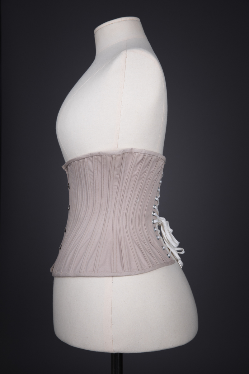 Little Bird Underbust Corset By Sparklewren, c. 2014, United Kingdom. The Underpinnings Museum. Photography by Tigz Rice.