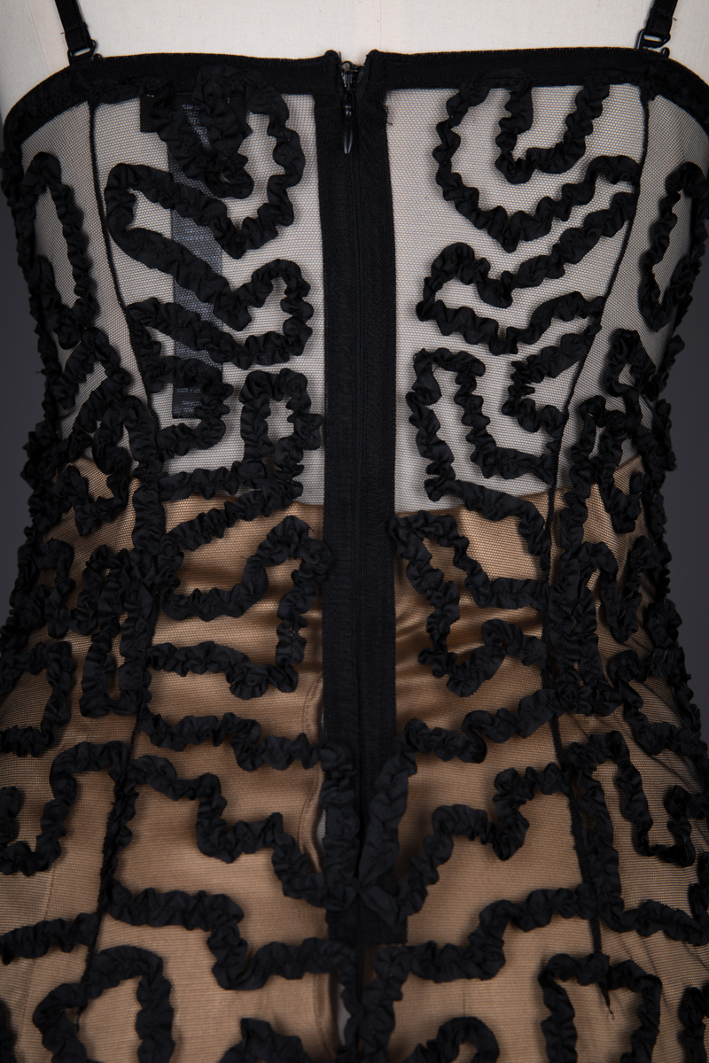 'Rubans' Ribbonwork & Tulle Slip By Jean Paul Gaultier For La Perla, c. 2012, Italy. The Underpinnings Museum. Photography by Tigz Rice.
