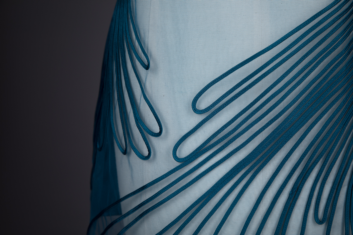 'Feuillage' Silk Soutache Slip By Jean Paul Gaultier For La Perla, c. 2011, Italy. The Underpinnings Museum. Photography by Tigz Rice.