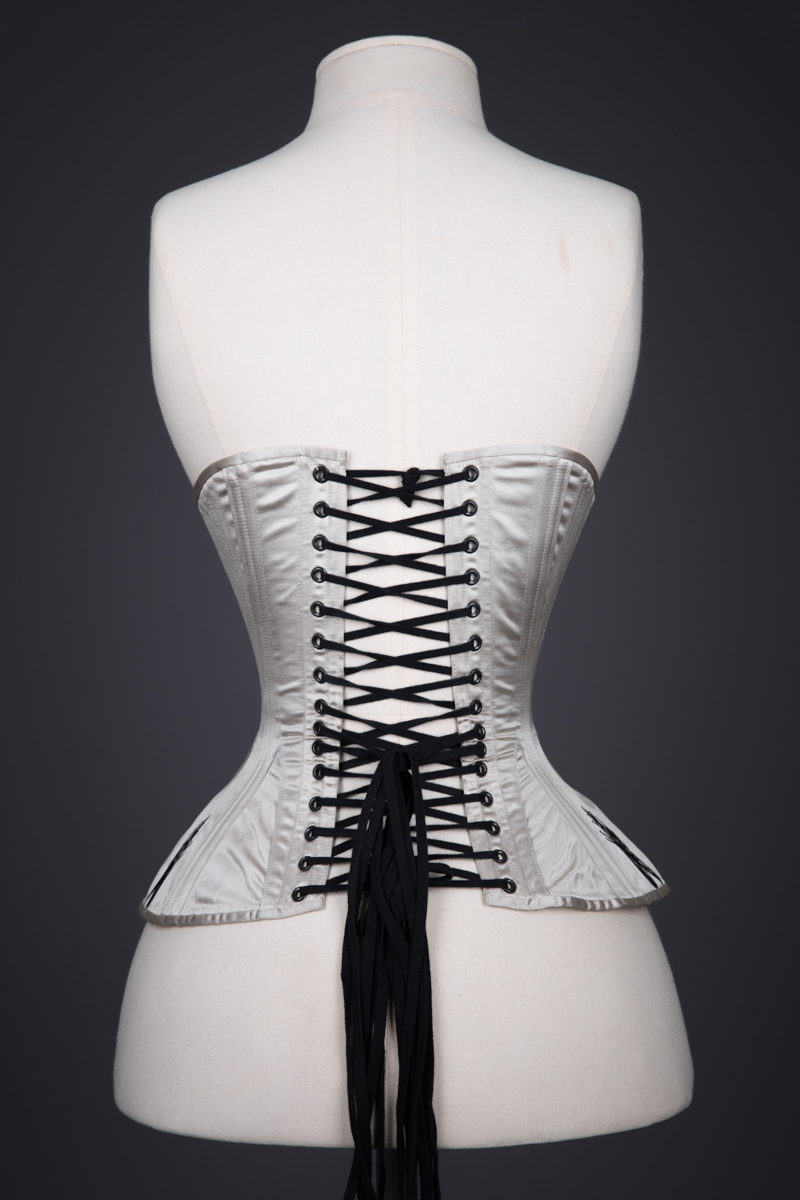 Black Star Overbust Corset By Sparklewren, 2018, United Kingdom. The Underpinnings Museum. Photography by Tigz Rice