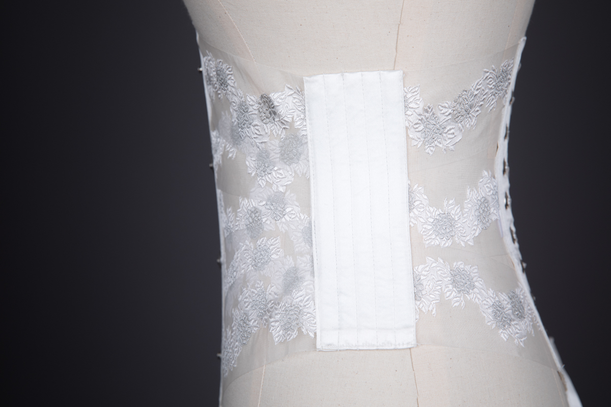 'Janus' Sheer Organza Ribbon Corset By Evgenia, 2016, USA. The Underpinnings Museum. Photography by Tigz Rice.