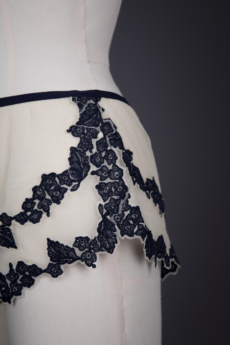 'Marin' Tattoo Embroidered Tulle Bra & Shorts By Jean Paul Gaultier For La Perla, c. 2012, Italy. The Underpinnings Museum. Photography by Tigz Rice.