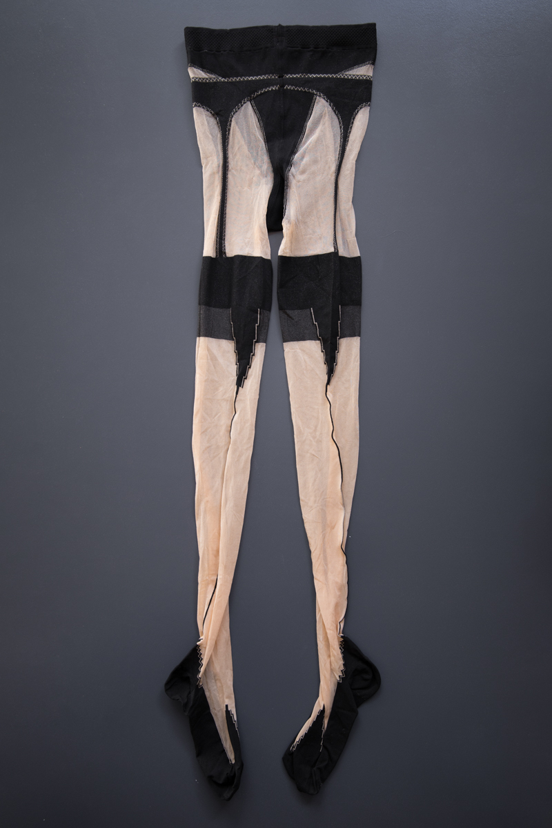 Stocking Illusion Tights By Jean Paul Gaultier For Wolford, c. 1999, Austria. The Underpinnings Museum. Photography by Tigz Rice.