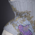 'Wren' Embroidered Cincher By Sparklewren, c. 2014, UK. The Underpinnings Museum. Photography by Tigz Rice.