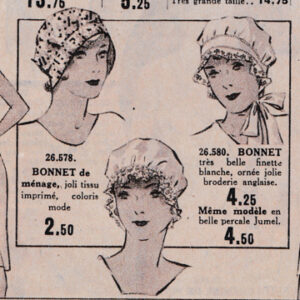 Excerpt from 'Au Louvre Paris' Winter 1935 department store catalogue.