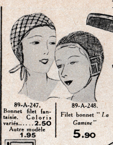 Excerpt from 'Au Printemps' Summer 1934 Catalogue, France. The Underpinnings Museum.