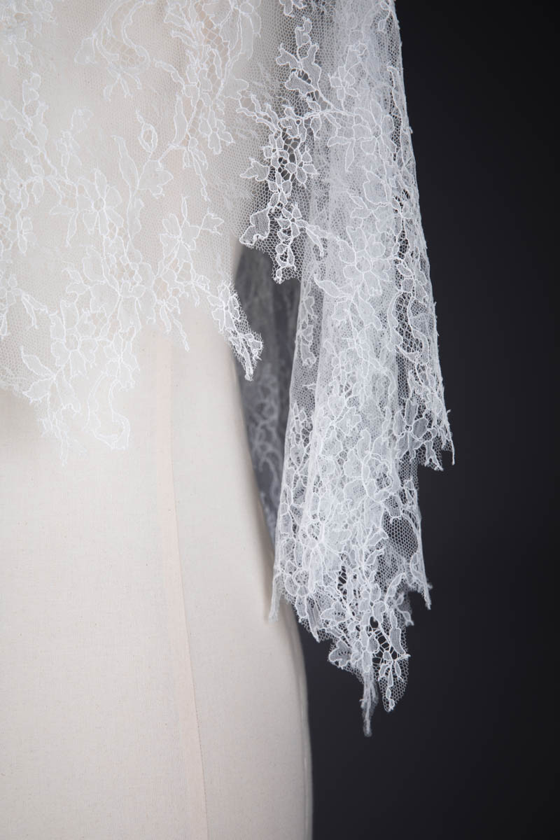 Chantilly Lace Cape By Karolina Laskowska, 2018, Norway. The Underpinnings Museum. Photography by Tigz Rice.