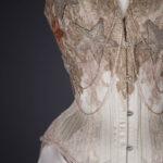 Trinity Satin Corset & Skirt By Sparklewren, Vanyanís & Pop Antique, 2019, United Kingdom, Australia & USA. The Underpinnings Museum. Photography by Tigz Rice