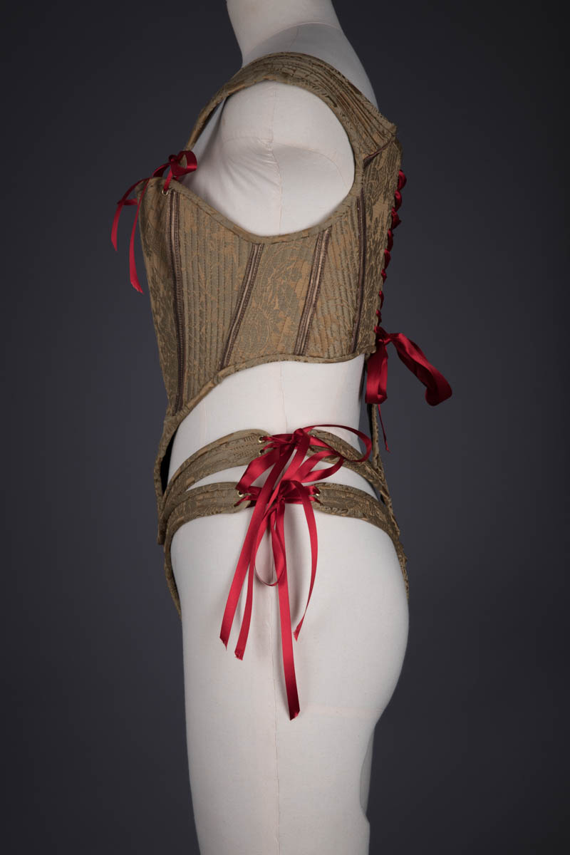 Structured Cage Bodysuit With Ribbon Lacing By Sparklewren, 2011, UK. The Underpinnings Museum. Photography by Tigz Rice