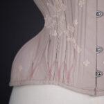 'Shy' Coutil & Lace Appliqué Corset By Sparklewren, 2014, United Kingdom.
