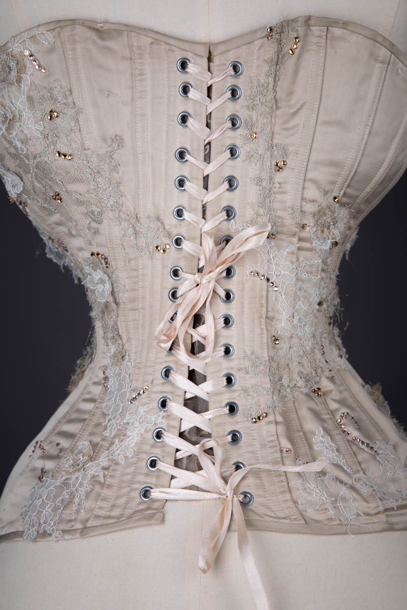 'Flights Of Fancy' Silk Corset, Skirt & Cage Crinoline By Rosie Red Corsetry & Couture, 2012, UK. The Underpinnings Museum. Photography by Tigz Rice