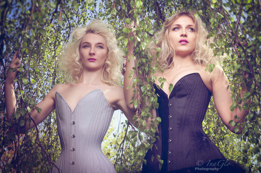 'Birds, Moths & Waifs' Spring/Summer 2013 Collection by Sparklewren. Photography by InaGlo Photography. Modelled by Cassie Rae Wardle & Emily McLeish.