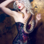 'Pythons' lookbook by Sparklewren. Photography by InaGlo Photography. Modelled by Cassie Rae Wardle.