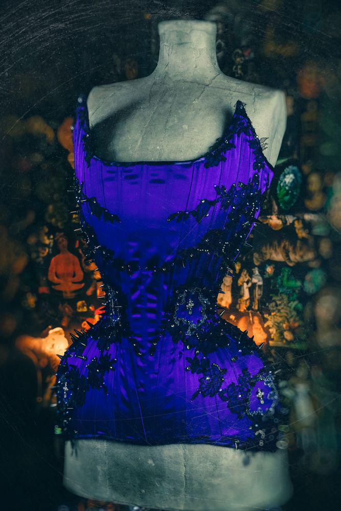 Corset by Holly Rafaela Photography by Jenni Hampshire