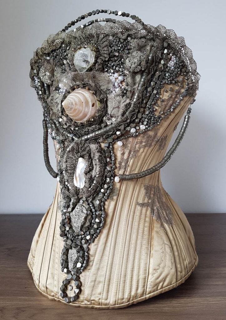 'Unicorn' corset by Sparklewren. Photography by Danielle Kwan