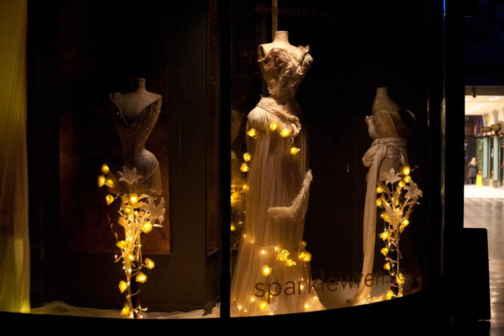The Sparklewren boutique in Winter 2012. Photo by K. Laskowska
