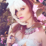 Design by Sparklewren. Photography by InaGlo Photography. Modelled by Gingerface. MUA by Samantha Gardner.